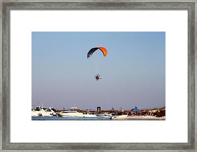Fun Sand And Sun  Framed Print by Debra Forand