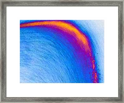 Fun With Color 2 Framed Print by Chasity Johnson