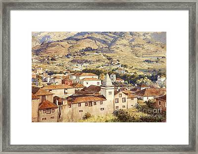 Funchal - Morning Sun Framed Print by Pg Reproductions
