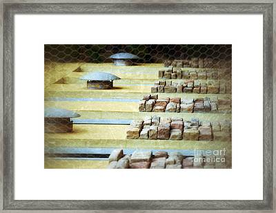 Function And Order Framed Print by Darla Wood