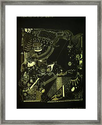 Function Form And Content Framed Print by Guillermo De Llera