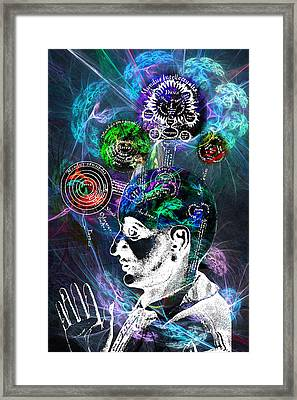 Functions Of The Brain Framed Print by Lisa Yount