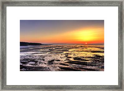 Fundy's Mud Flats Framed Print