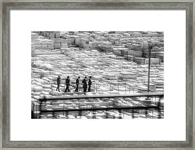 Funeral In Jerusalem 1 Framed Print