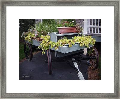 Funeral Wagon Framed Print by Brian Wallace