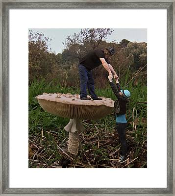 Fungi Heads Framed Print by Eric Kempson