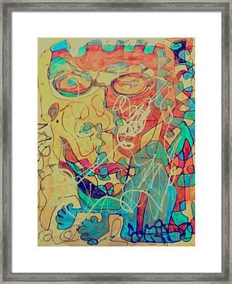 Funky Fresh Framed Print by Rick Burgunder