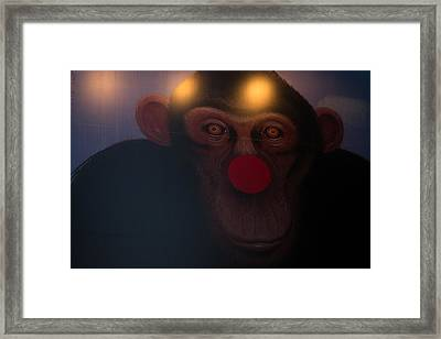Funky Monkey Framed Print
