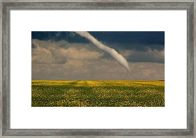 Funnel Clouds Framed Print