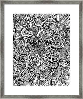 Funnel Me Framed Print by Brenda Erickson