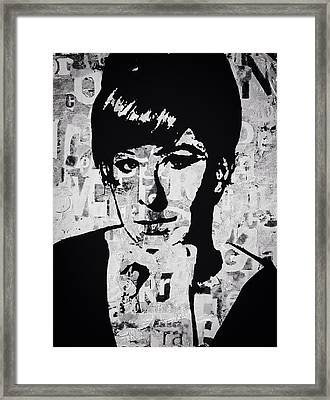 Funny Girl Framed Print by Trisha Buchanan