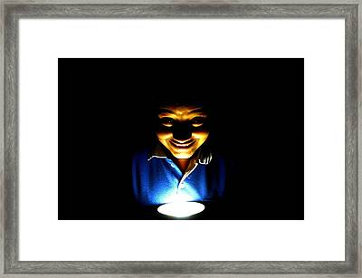 Funny Or Horrible  Framed Print by Deepti Chahar