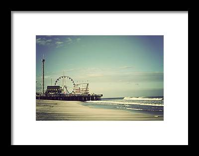 Jersey Shore Framed Prints
