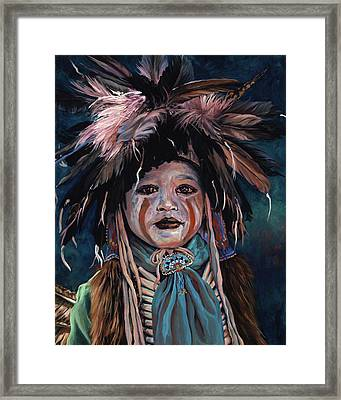 Fur And Feathers Framed Print
