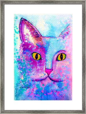 Fur Friends Series - Fitch Framed Print by Moon Stumpp