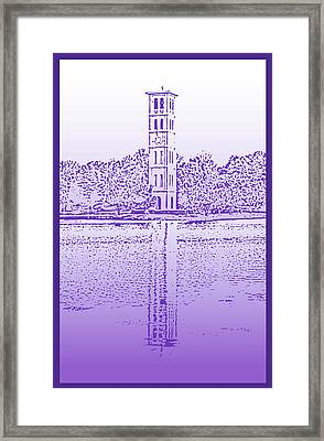 Furman Bell Tower Framed Print