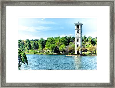 Furman Lake Framed Print