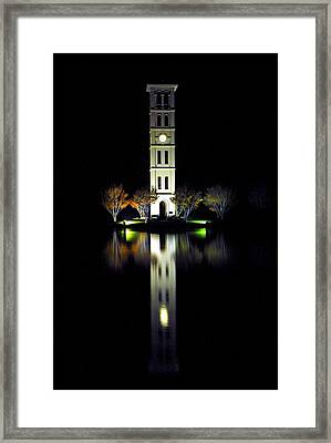 Furman University Tower  Greenville Sc Framed Print