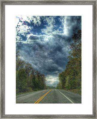 Furnace Branch Road Framed Print by Toni Martsoukos