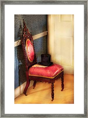 Furniture - Chair - Ready For The Ball Framed Print by Mike Savad