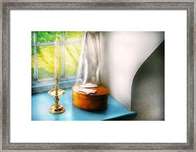 Furniture - Lamp - In The Window  Framed Print