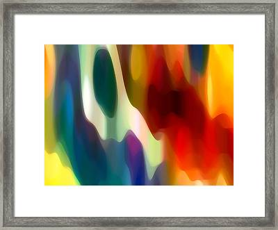 Fury 2 Framed Print by Amy Vangsgard