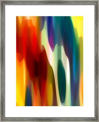 Fury 3 Framed Print by Amy Vangsgard