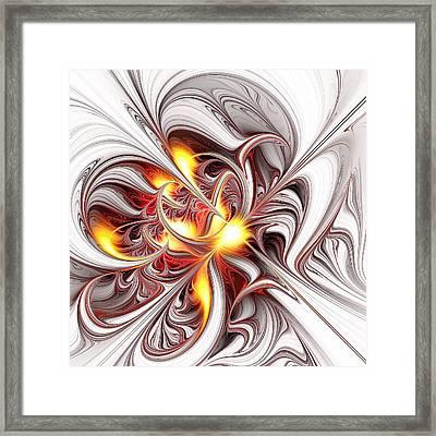Fury Framed Print by Anastasiya Malakhova