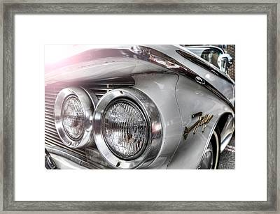 Framed Print featuring the photograph Fury by Michael Donahue