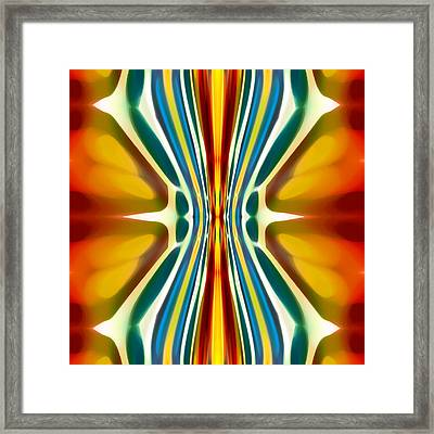 Fury Pattern 6 Framed Print by Amy Vangsgard