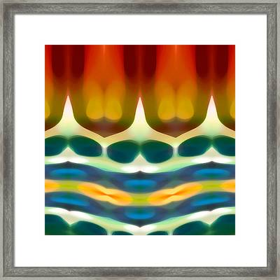 Fury Pattern 7 Framed Print by Amy Vangsgard