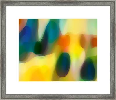 Fury Rain 2 Framed Print by Amy Vangsgard