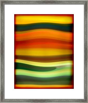 Fury Sea 6 Framed Print by Amy Vangsgard