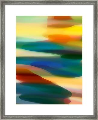 Fury Seascape 1 Framed Print by Amy Vangsgard