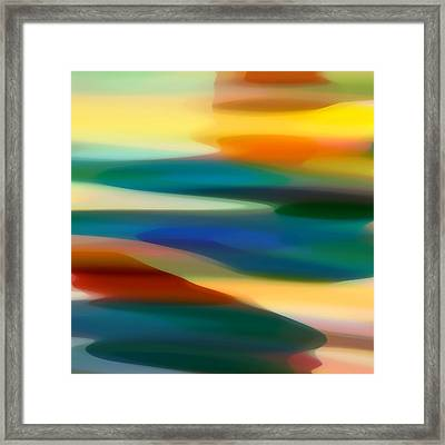 Fury Seascape 5 Framed Print
