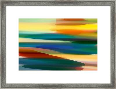 Fury Seascape 7 Framed Print by Amy Vangsgard