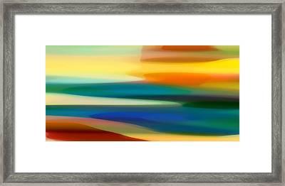 Fury Seascape II Framed Print by Amy Vangsgard