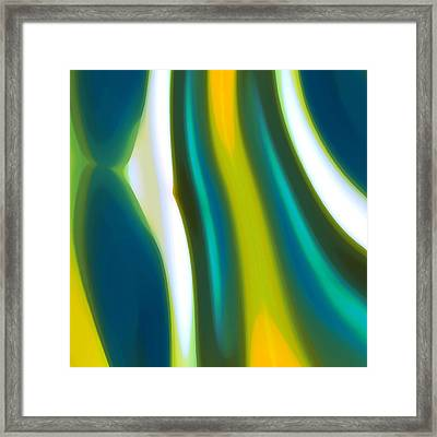 Abstract Tide 9 Framed Print