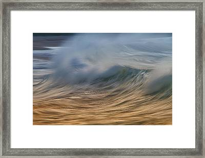 Fury Wave Framed Print