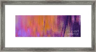 Fuscia Pond Framed Print