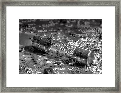 Fuse Framed Print by Michael Eingle