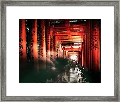 Fushimi Inari Shrine Framed Print