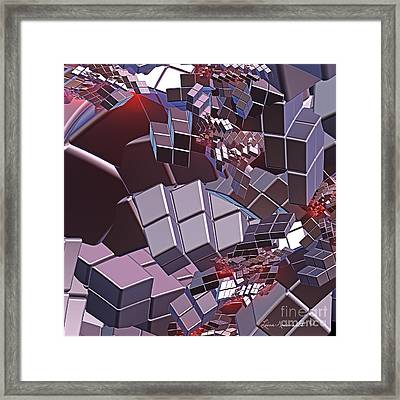Fusion Framed Print by Leona Arsenault