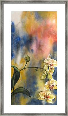 Fusion Orchid Framed Print