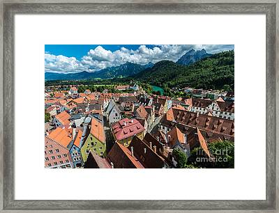 Fussen - Bavaria - Germany Framed Print