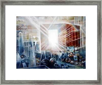 Future City #5 Framed Print by Yael Avi-Yonah