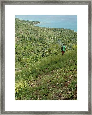Future Greenbelt Area Framed Print by Marianne Miles
