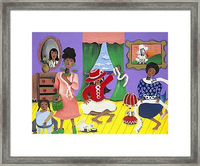 Future Reservations Framed Print by Patricia Sabree