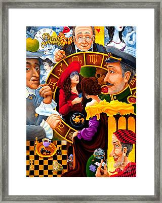 Future Talk On Four Kings Framed Print