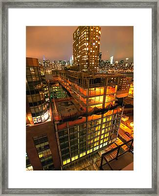 Future Views Framed Print